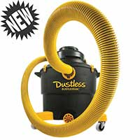 Dustless 16003 with  7″ Shroud and 2 pack pre filters