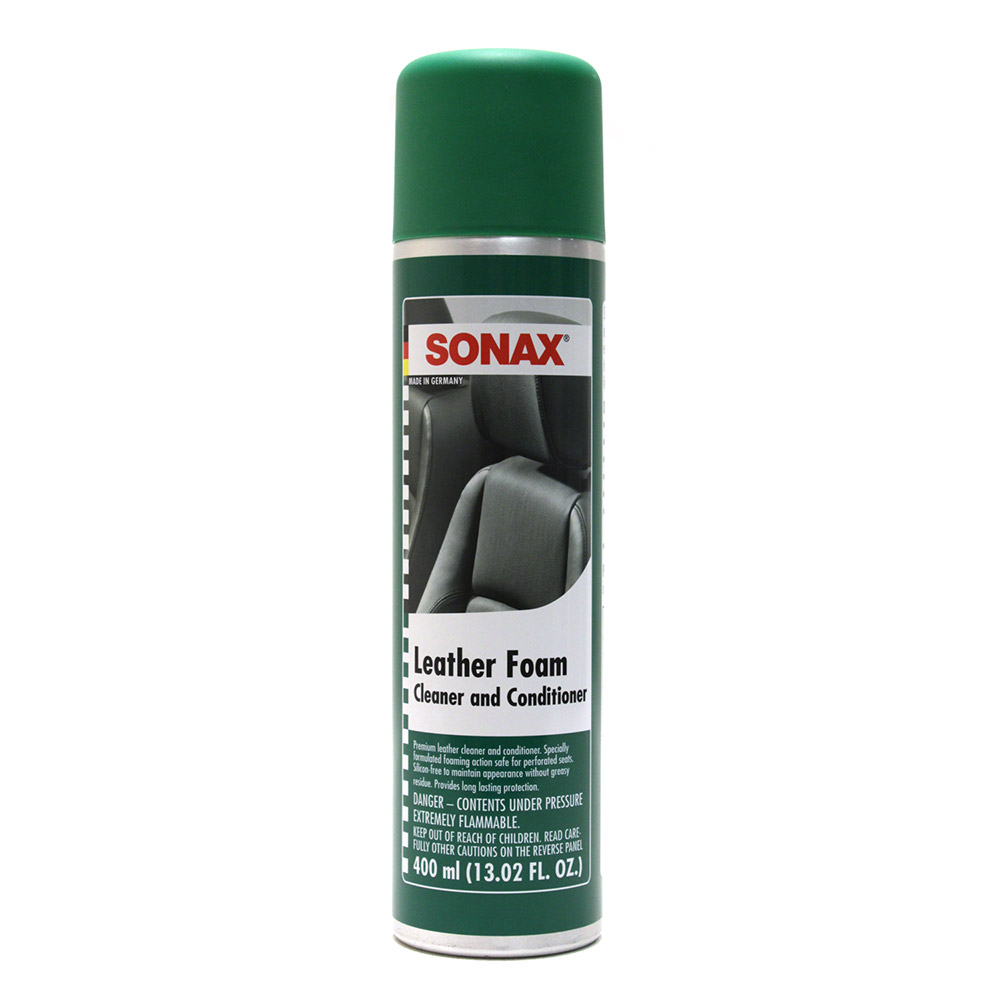 SONAX Leather Foam Foaming Leather Cleaner 289300
