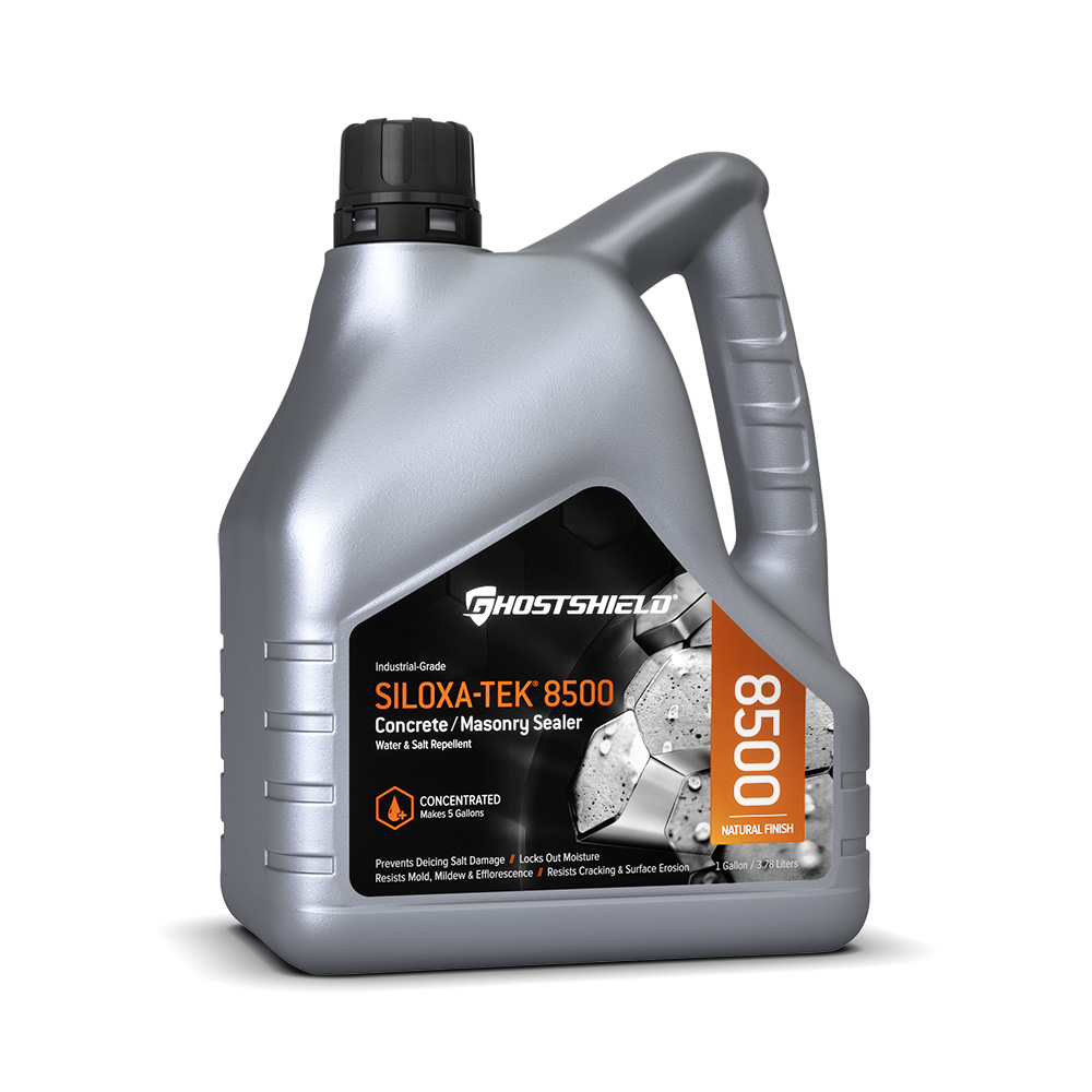 GhostShield Siloxa-Tek 8500 Ultra Concentrate Concrete Sealer /  Water Repellent Makes 5 Gallons