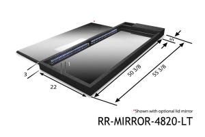 LIGHTED SHOW MIRROR