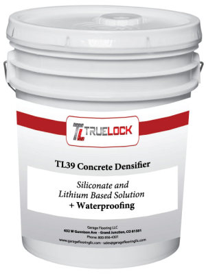 TL39 Concrete Densifier & Waterproofer  5 Gallon VOC FREE