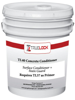 TL40 CONCRETE CONDITIONER WITH STAIN GUARD 5 Gallon