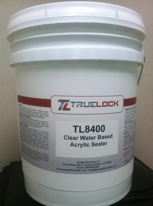 TL8400 Clear Water Based Acrylic Sealer 5 Gallon