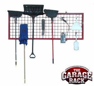Wall Rack Organizer and Accessories