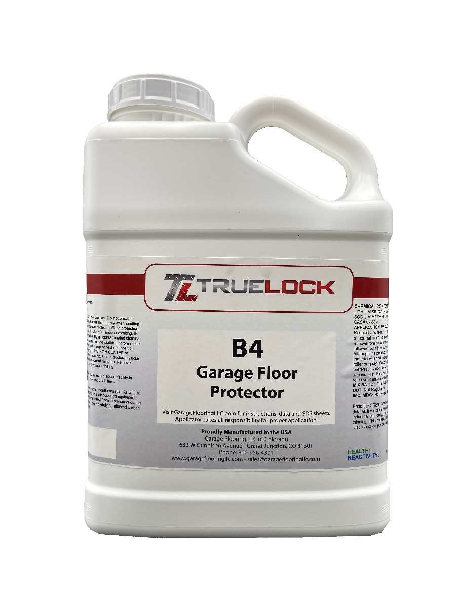 B4 Garage Floor Protection & Prep Solution for Mats and Tiles