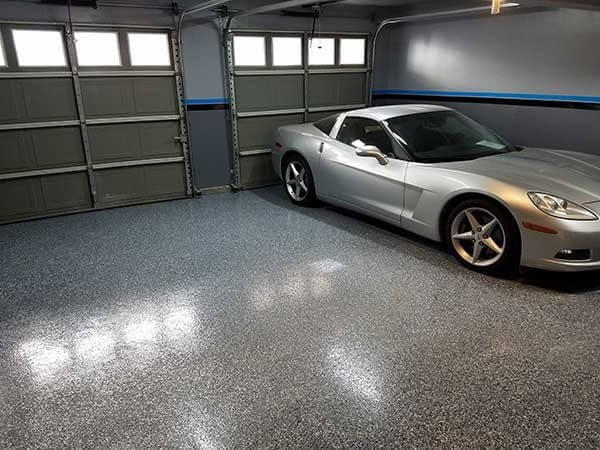 750 Sq. Ft. 2 Coat Polyurea System (10-12 Mil) with Heavy Flake