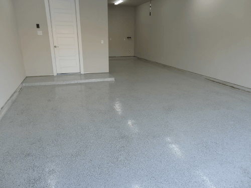 TrueLock 500 Sq. Ft. Epoxy Kit -- Flake/Aliphatic Urethane Top Coat